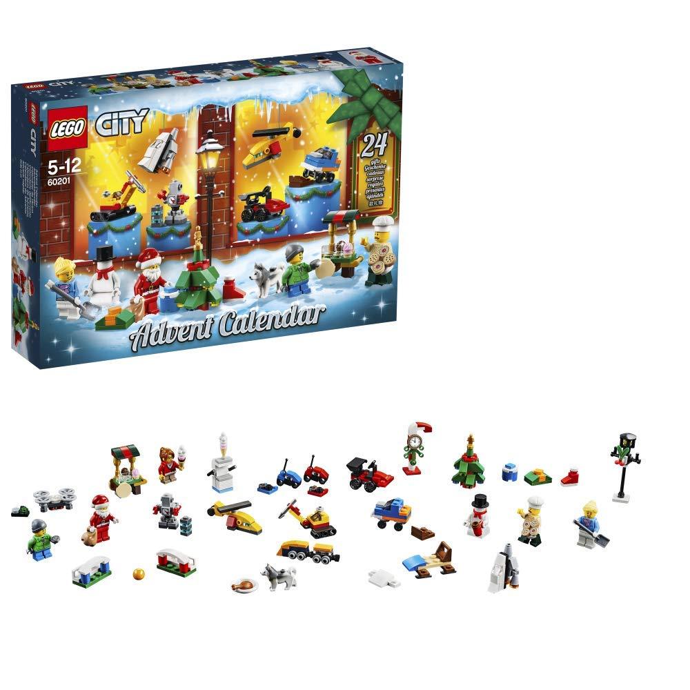 孩子的好玩伴 Lego 城市系列 2018圣诞倒数日历