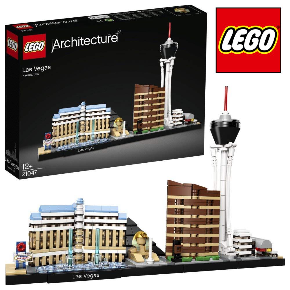 乐高建筑 城市天际线之拉斯维加斯 LEGO Architecture Skyline 21047 Las Vegas