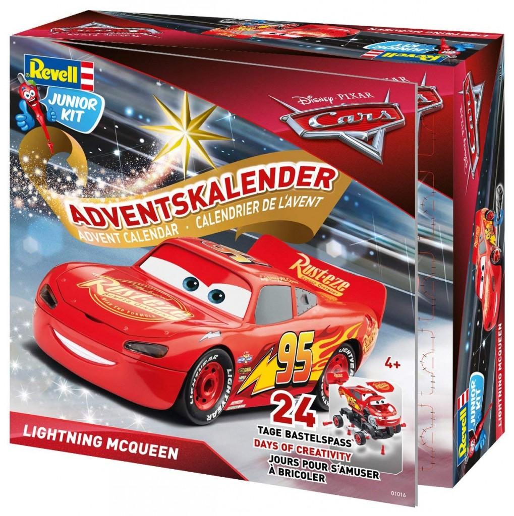 Revell 汽车总动员3 Lightning McQueen组装模型圣诞套装