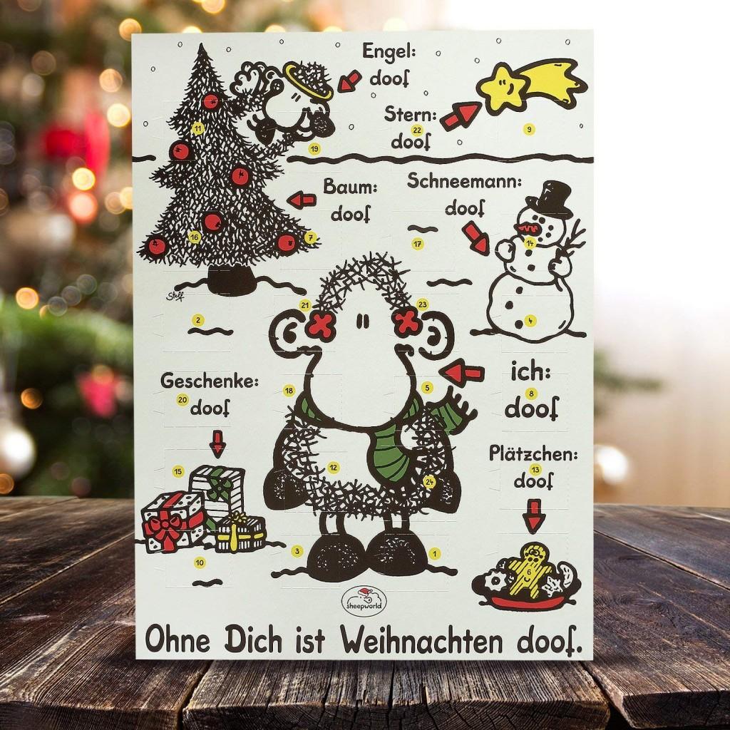 Sheepworld羊世界 圣诞节倒数日历
