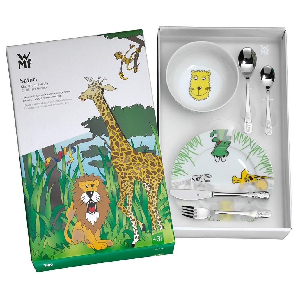 德国福腾宝 WMF 野生动物园系列不锈钢儿童餐具6件套