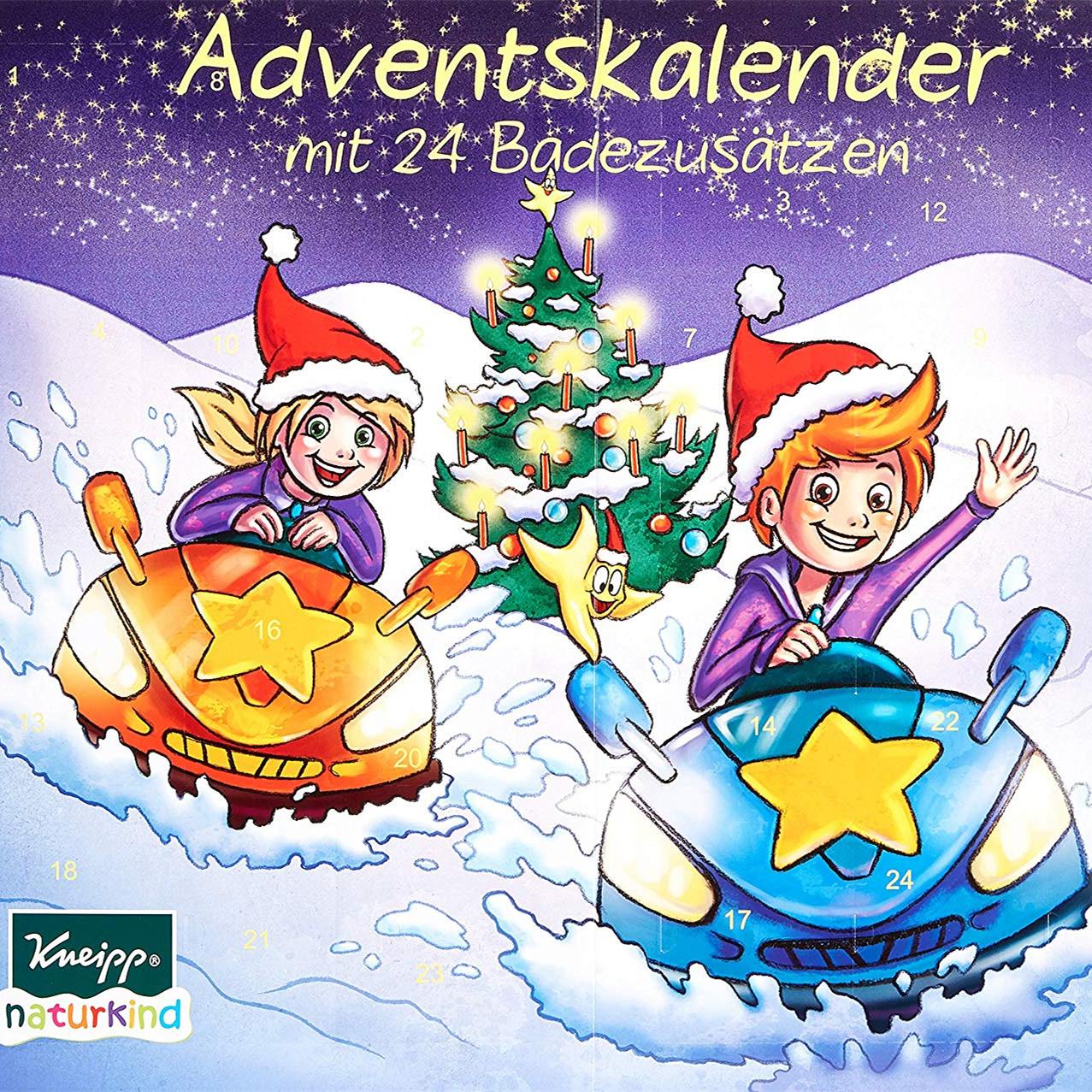 Kneipp Kinder Adventskalender 泡泡浴圣诞日历