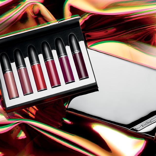 MAC Shiny Pretty Things Sweet 圣诞限量哑光唇釉礼盒来袭!