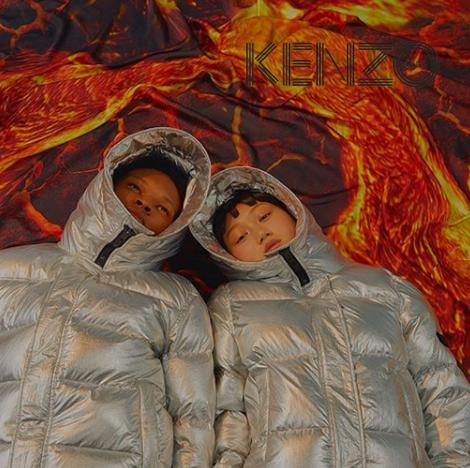 黑五第一天:KENZO精选冬季外套