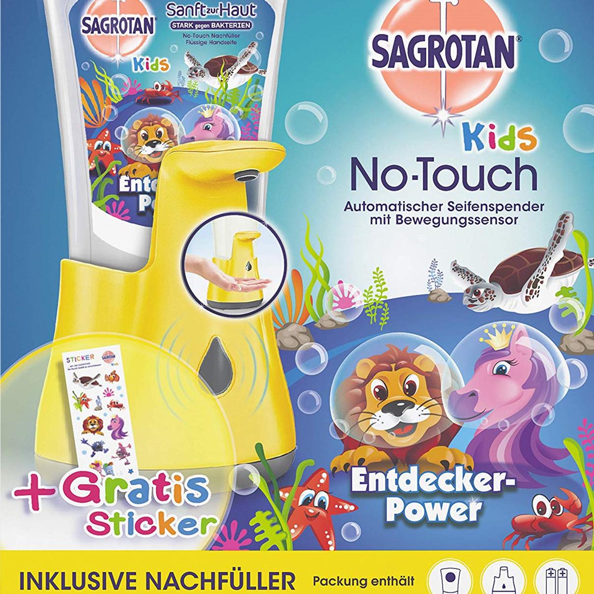 Sagrotan kids Seifenzauber 感应洗手液套装1 x 250ml