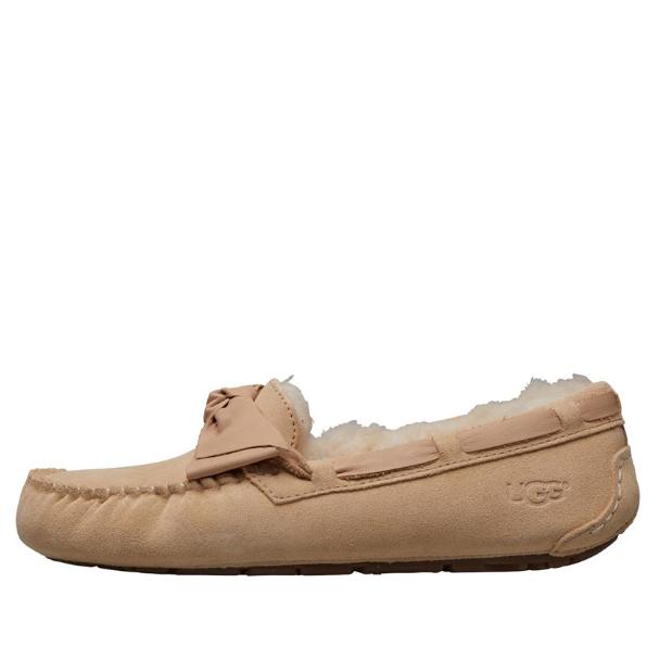 UGG Dakota Bow Hausschuhe Hellbraun 船鞋