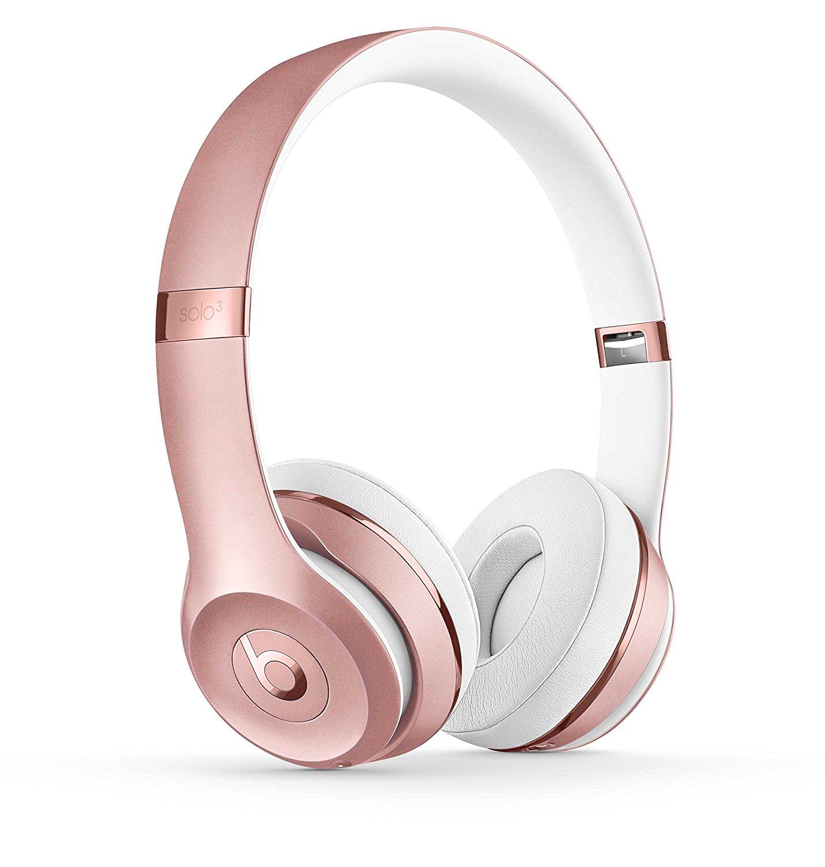 beats Solo3 Wireless无线蓝牙头戴式耳机 玫瑰金、纯黑、金色三色可选