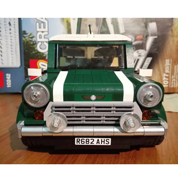 车迷值得收藏!乐高 Lego 10242 Mini Cooper