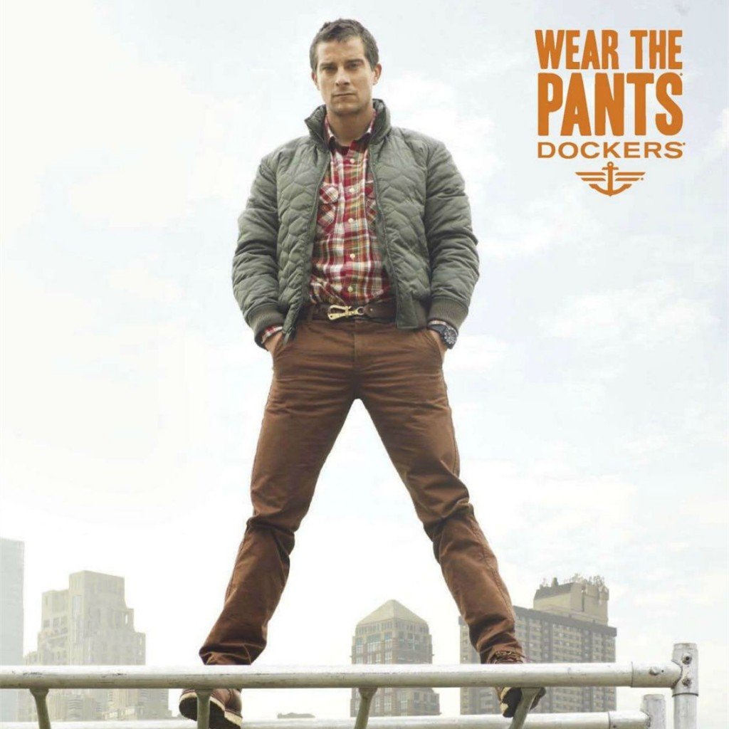 Real Man, Real Pants 专注裤子的男装品牌Dockers男装