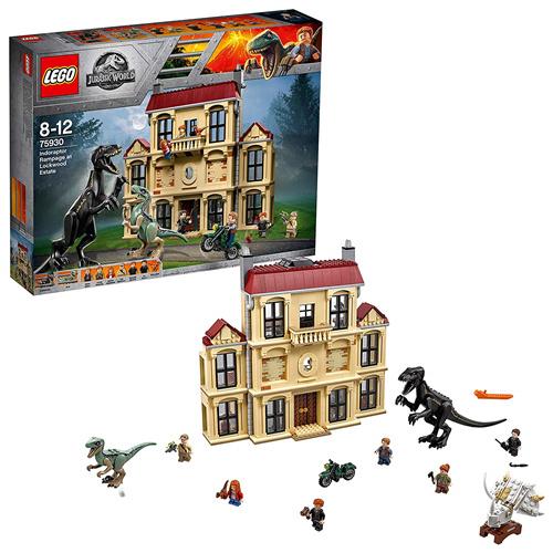 LEGO 乐高 侏罗纪世界2 75930 暴虐龙袭击洛克伍德庄园