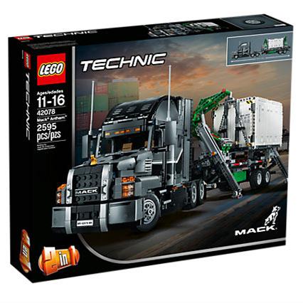 LEGO 42078 科技系列【麦克卡车】Mack Anthem