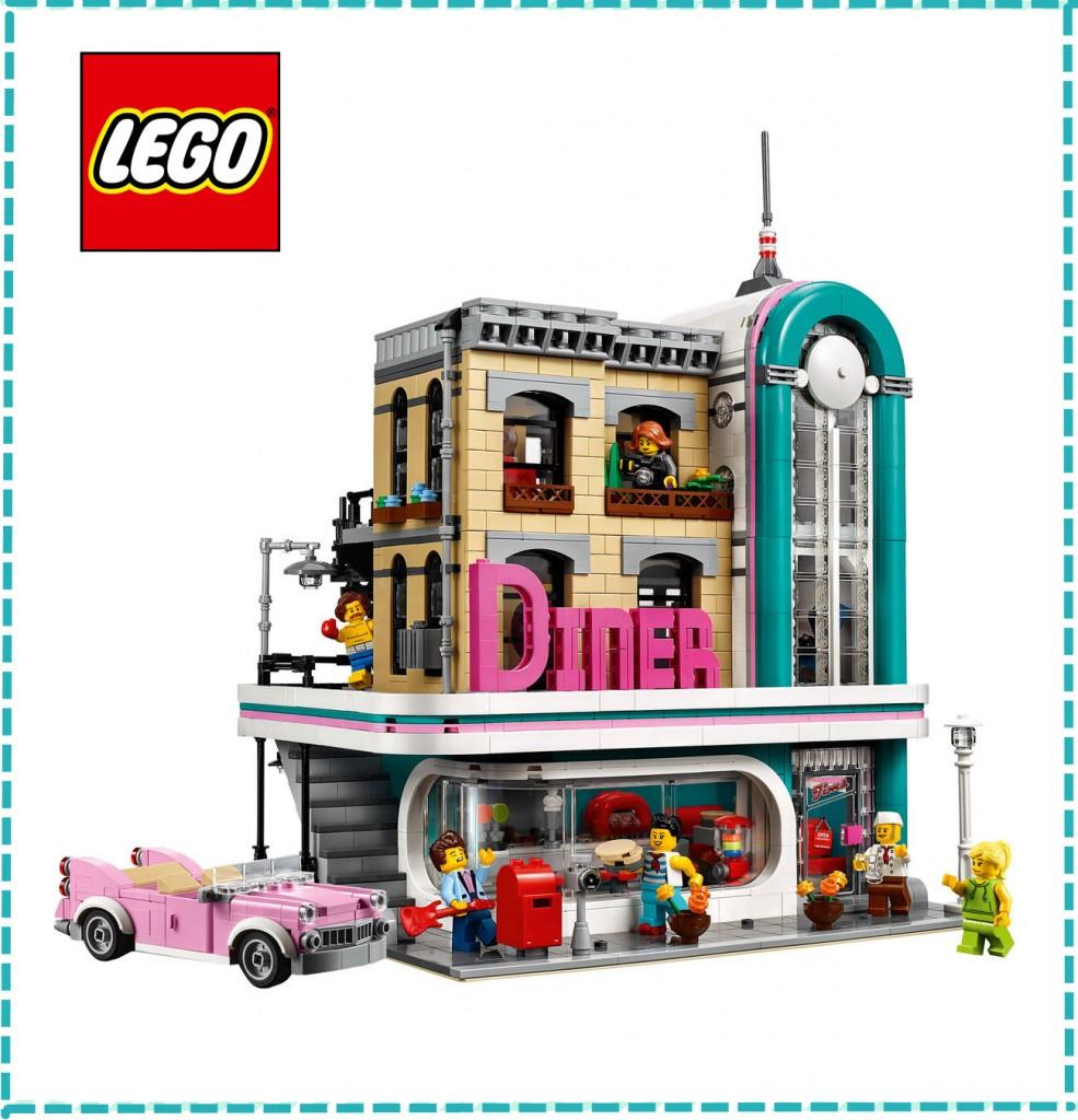 lego 乐高美式餐厅Amerikanisches Diner 10260