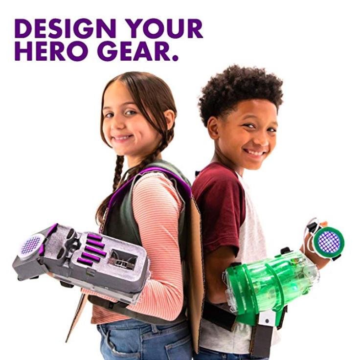 美国littleBits儿童益智玩具Avengers Hero Inventor Kit 复仇者发明者套装