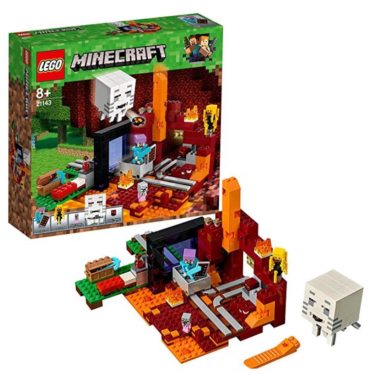 LEGO 我的世界 Minecraft 冥界门户 21143