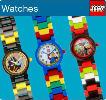 童心童趣 Lego 乐高儿童手表 星战、超级英雄等 六款可选!