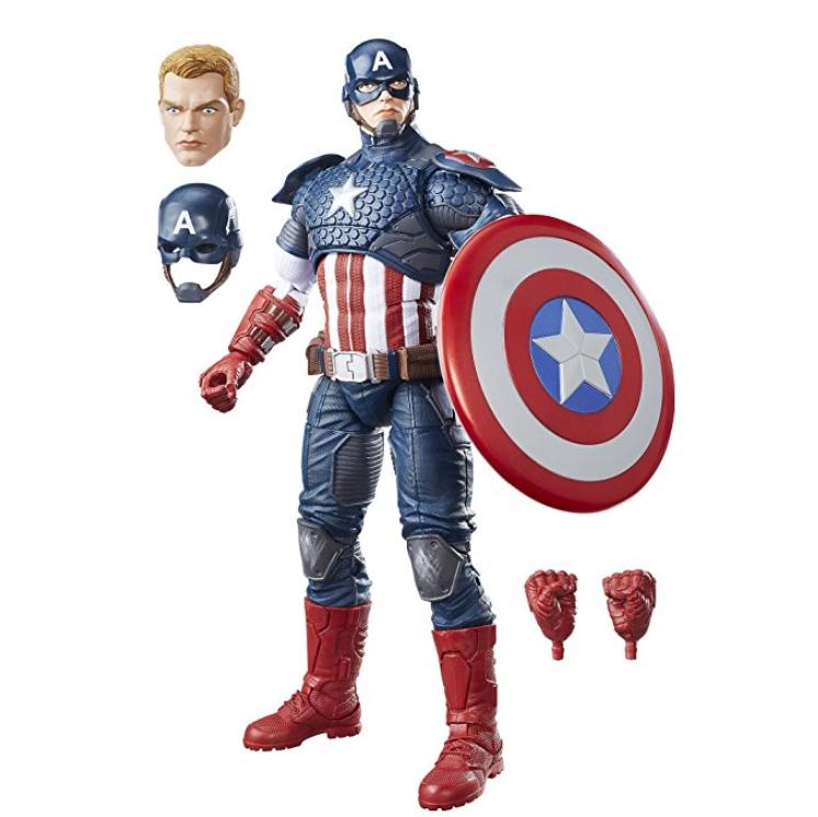 Hasbro Avengers B7433EU4 漫威 美国队长12寸手办