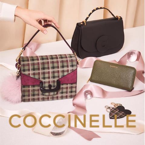 仙女背的包包来啦! 最值得入手的Coccinelle