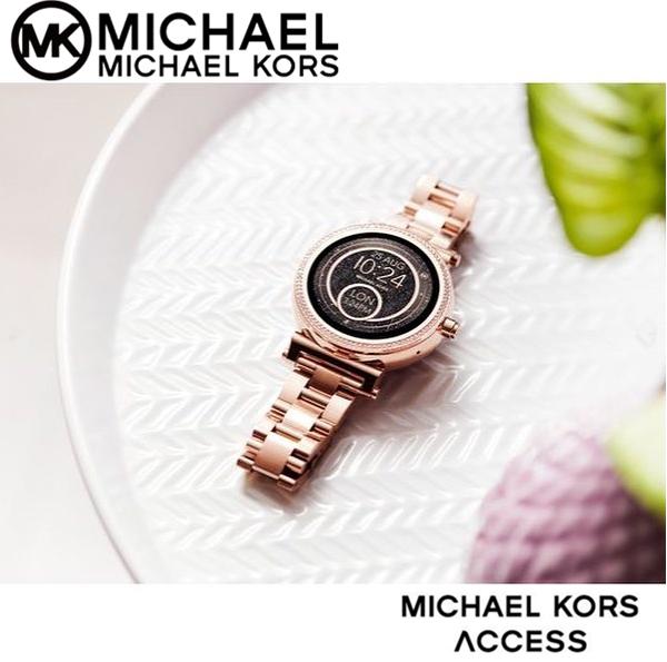 又美又聪明 Michael Kors 女式智能手表 Sofie MKT5024