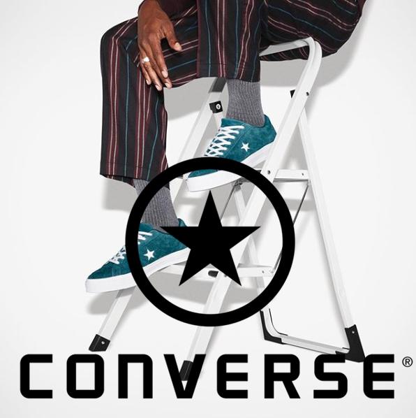 来来回回还是它最经典—CONVERSE帆布鞋服装闪购