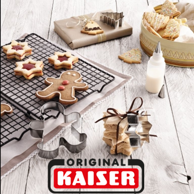 WMF旗下烘焙专门品牌Kaiser圣诞主题饼干模具