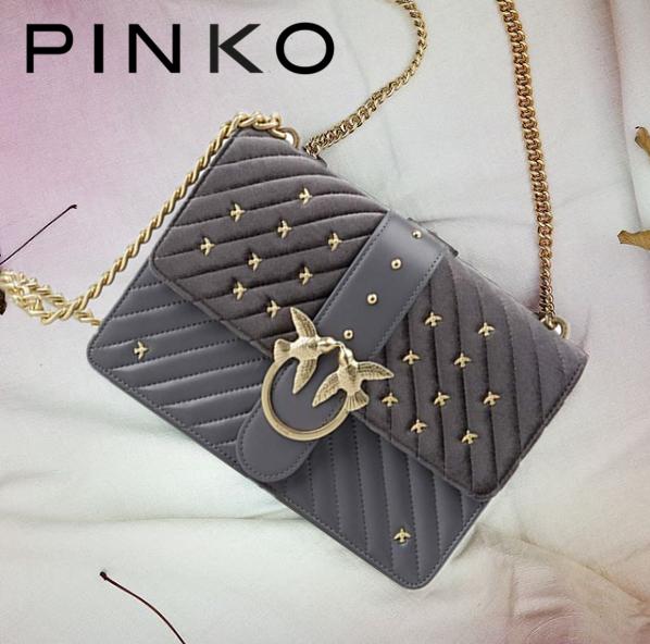 超级百搭又能装的绝美 PINKO燕子包