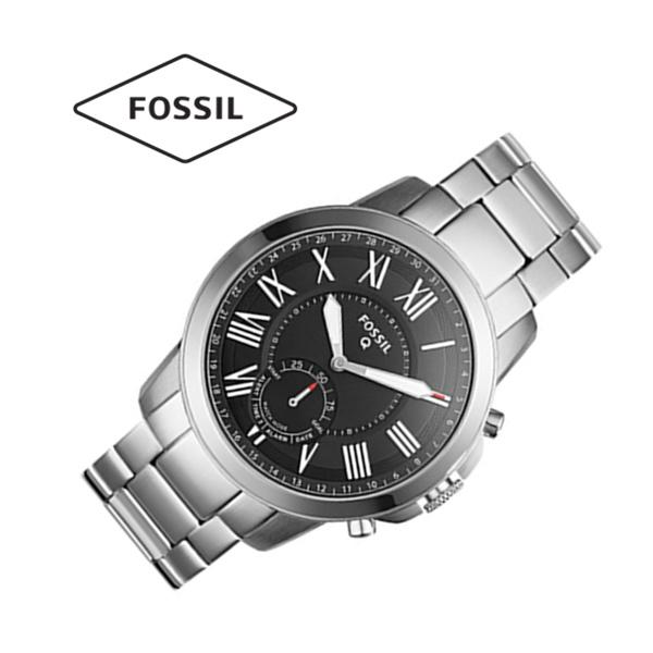 看起来是经典不锈钢男表,其实它是智能手表啊!Fossil FTW1158 不锈钢男表