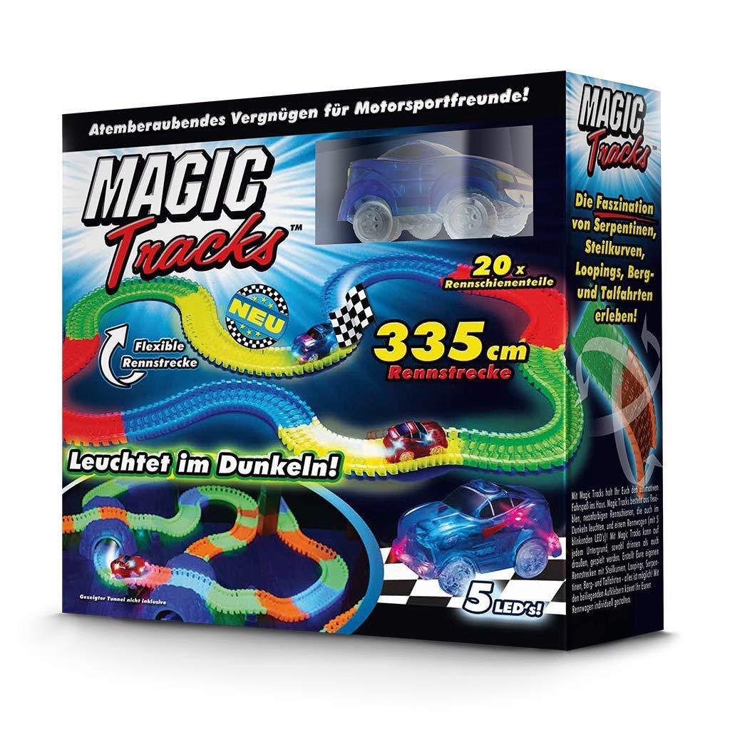 Magic tracks 百变夜光魔术轨道车