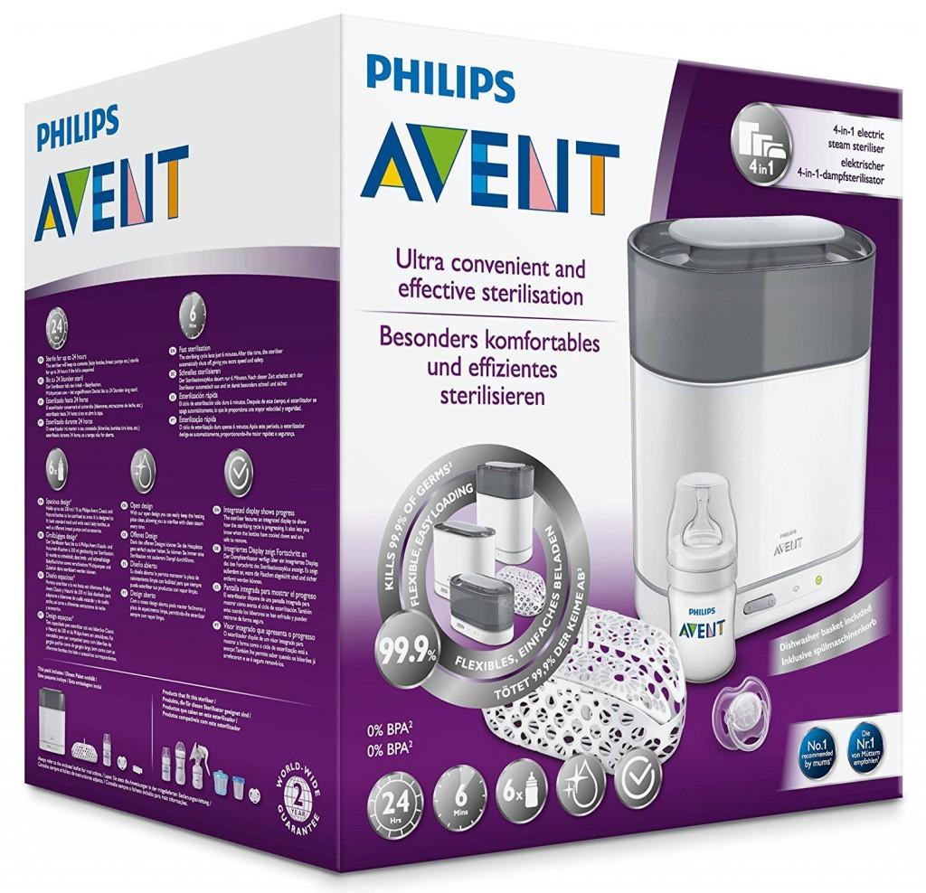 Philips Avent 新安怡 4合1 蒸汽消毒机