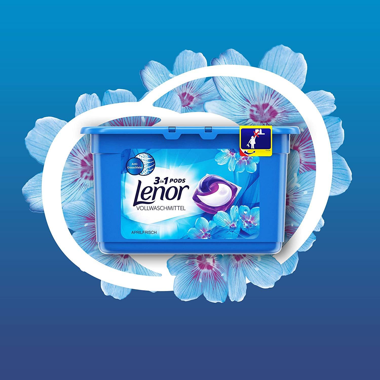 三大难题 一颗搞定!Lenor 3-in-1 PODS三合一洗衣球 54个装(两种香味可选)