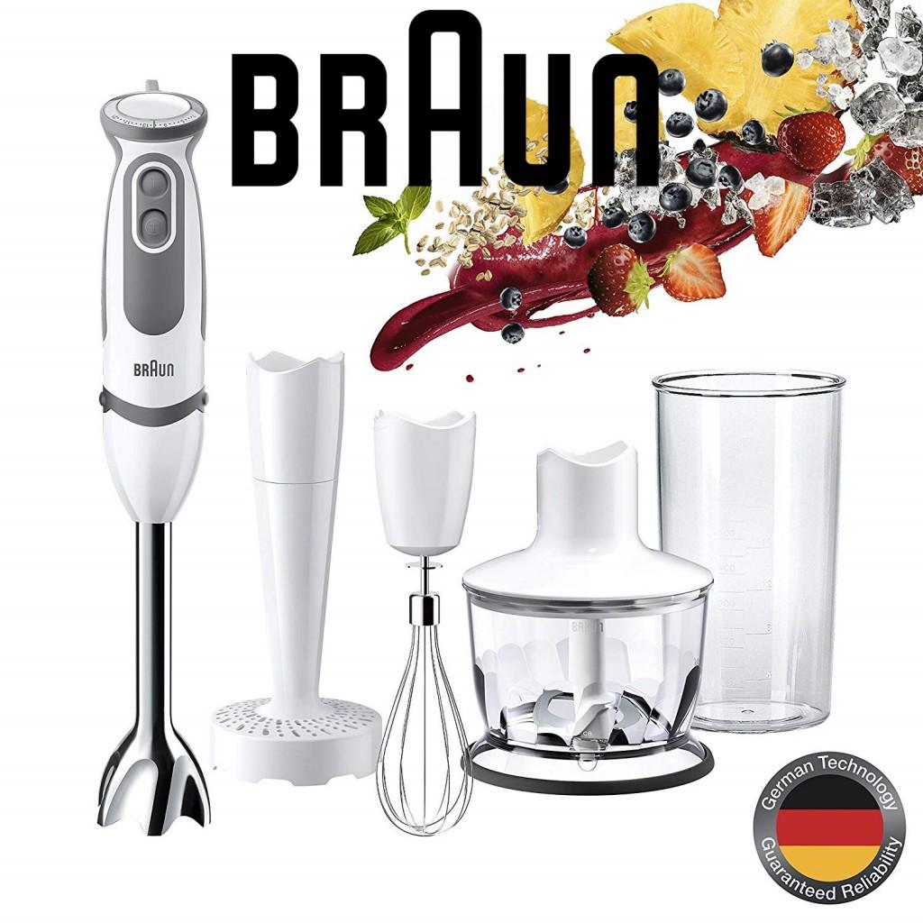 Braun MultiQuick MQ 5037 Stabmixer博朗手持式搅拌机