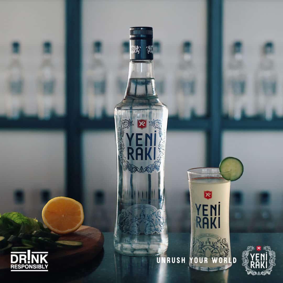 土耳其国酒 Yeni Raki 拉克酒礼盒 0.7L