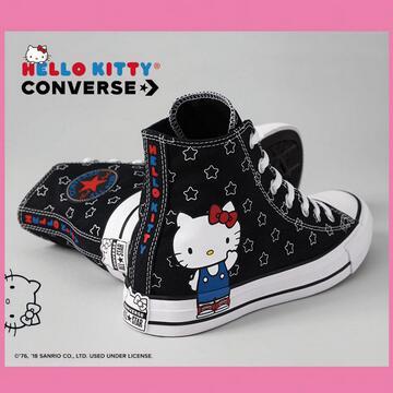 Converse ×Hello Kitty少女联名 粉红气息迎面扑来!