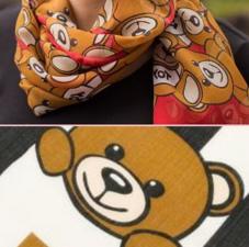 折扣升级:Moschino冬季主题全羊毛围巾
