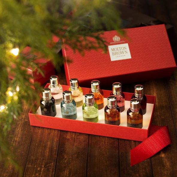 Molton Brown超值圣诞礼盒(沐浴露50ml x 10支)