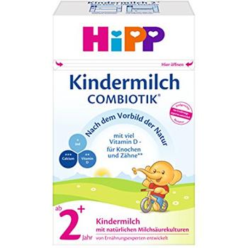 HiPP 喜宝 Kindermilch Combiotik ab 2+ Jahre 有机益生菌婴幼儿奶粉 2+段  4盒装