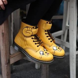 Dr. Martens×Adventure Time 联名款 儿童中性马丁靴