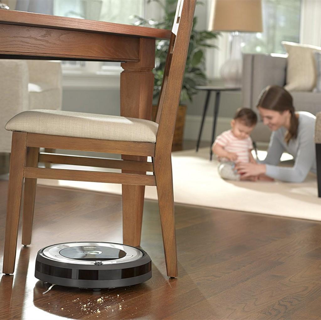 以后再也不用亲自扫地啦~ iRobot Roomba 680 扫地机器人