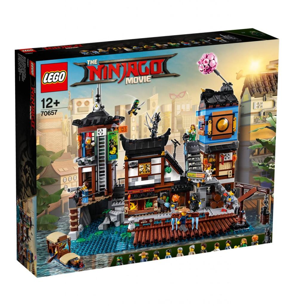 Lego Ninjago 乐高忍者系列 City Hafen 70657