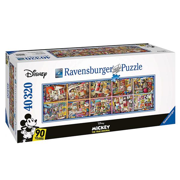 Ravensburger拼图 米老鼠90岁生日纪念版 40.000块巨型拼图