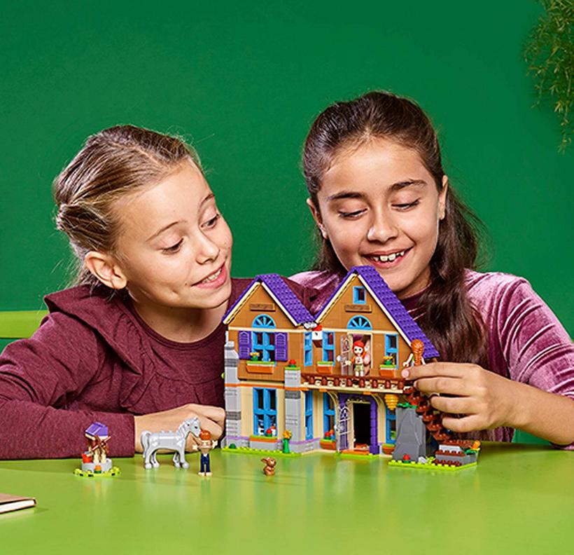 和娃一起玩儿的玩具 LEGO 41369 娃娃屋