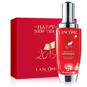小黑瓶变成了大红瓶~Lancôme Genifique Serum小黑瓶精华肌底液中国新年限定版 100ml