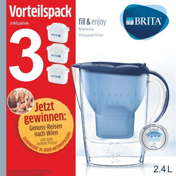 纯净生活 改善饮水品质 德国Brita滤水壶+3个替换芯