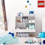 Lego出品的收纳盒!用大乐高收纳小乐高,再合适不过了!
