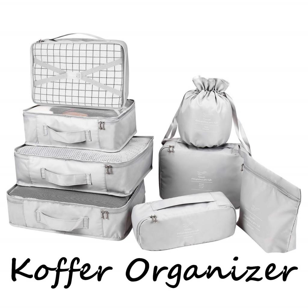 方便卫生的旅行从这一步开始——旅行整理袋 8件套组