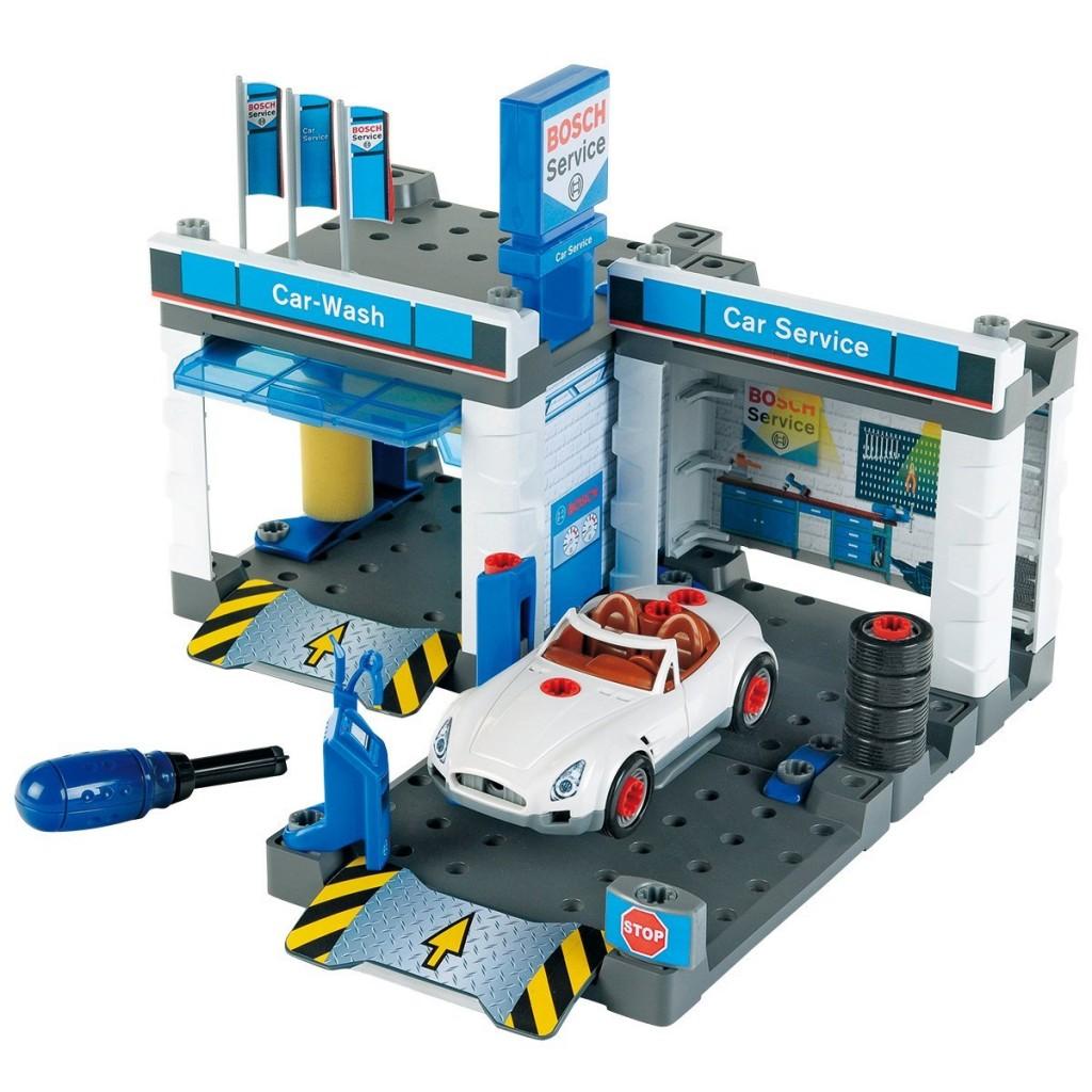 Theo Klein 儿童玩具 Bosch service 博世售后服务店模型