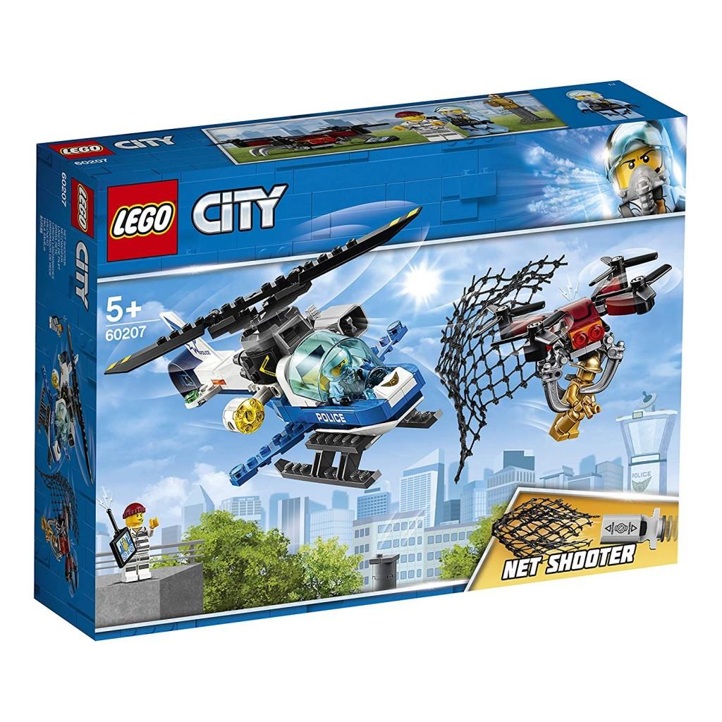 守护城市的正义就靠你啊!Lego 60207 City Polizei Drohnenjagd