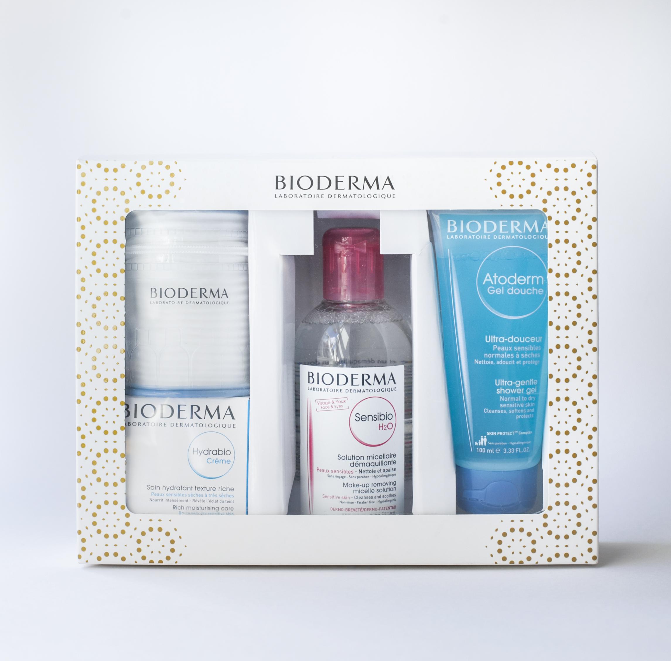 干皮专享 法国贝德玛Bioderma护肤卸妆套装