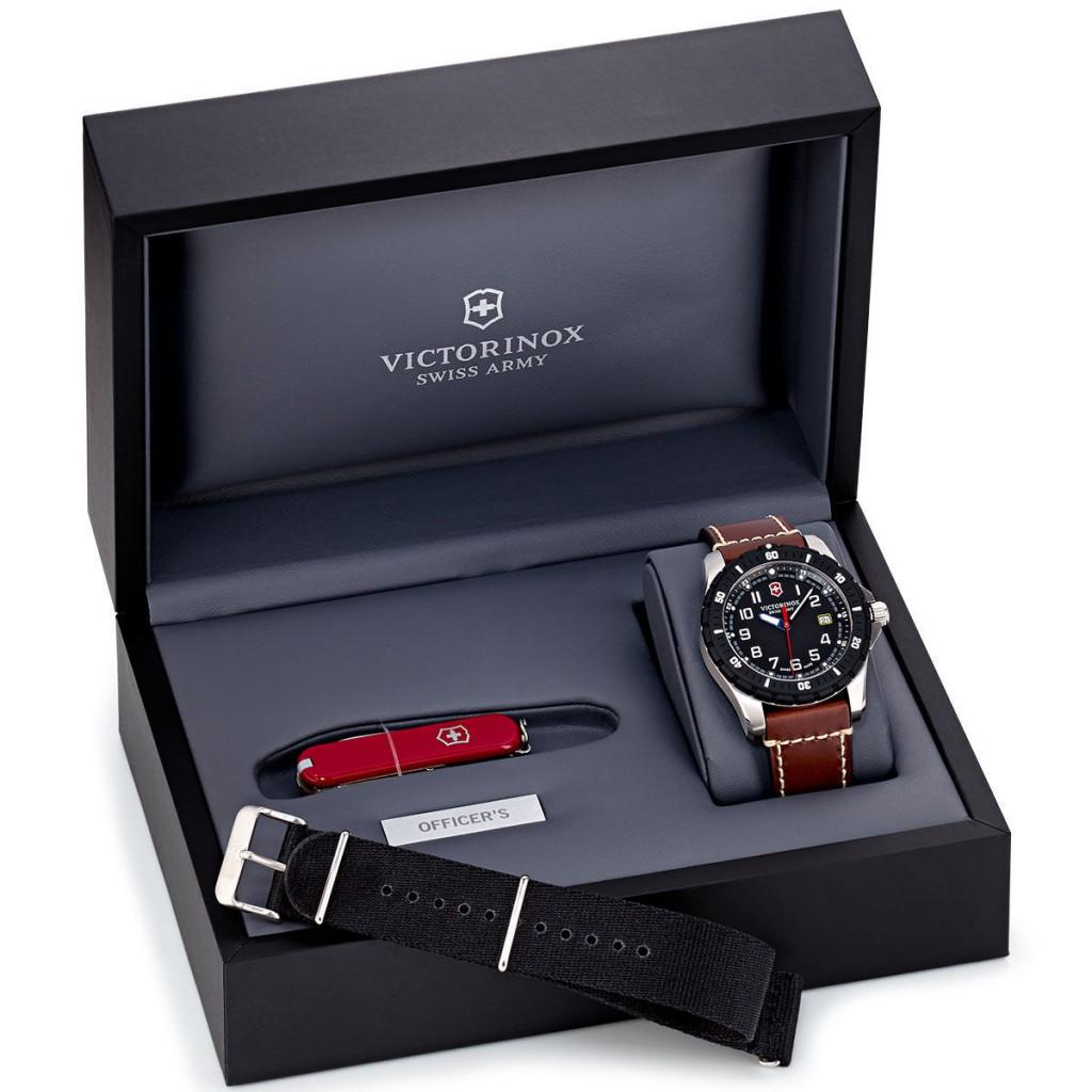 瑞士维氏Victorinox Swiss Army 瑞士军刀+男表 礼盒套装