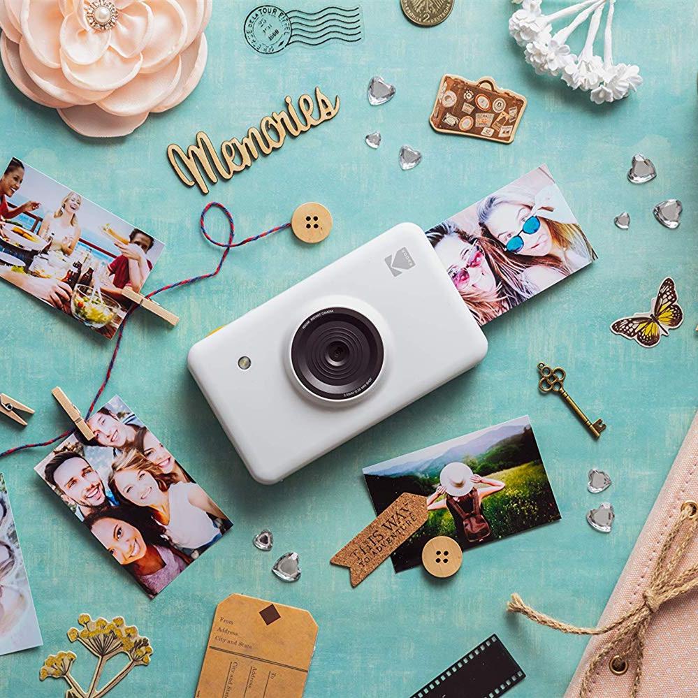 是相机也是拍立得  Kodak Mini Shot拍立得相机 6 色可选