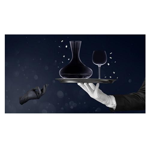 德国品质与法国情调的完美结合 德国Villeroy & Boch 水晶红酒壶+酒杯